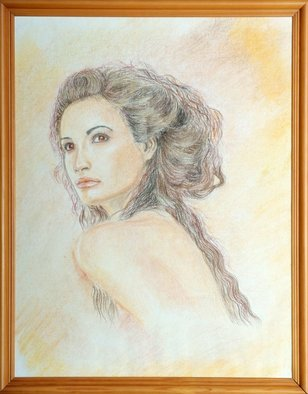Nadezhda Wenzel Artwork Helen of Troy, 2007 Pastel, Mythology