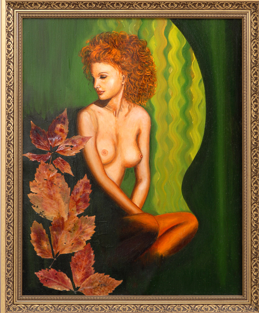 Nadezhda Wenzel  'Her Name Was Autumn', created in 2010, Original Pastel.