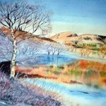 GRASMERE MIXED MEDIA PAINTING By Alan Doherty