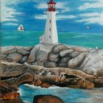 Ghost in a Lighthouse By Althea E Jenkins