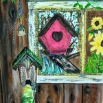 country bird houses By Althea E Jenkins