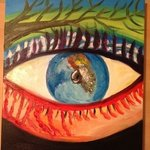 eye to the world By Faye Newsome