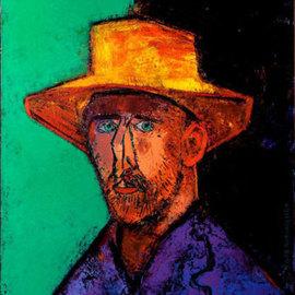 Van Gogh in a hat