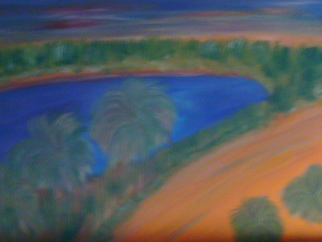 Michele Niels Artwork Mandara lake, 2010 Animation, Landscape