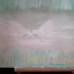 , The  Two Birds, Abstract, $105