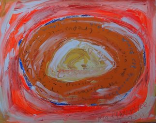 Agnieszka Praxmayer Artwork Crepuscule des Dieux, 2011 Acrylic Painting, Abstract