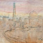 morning in khiva By Alexander Gubarev