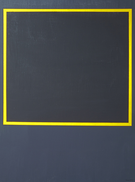 Anders Hingel  'Black Space I', created in 2017, Original Painting Acrylic.