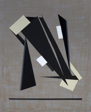 Anders Hingel: 'Counterpoint', 2017 Giclee, Minimalism. Making geometrical abstracts is like composing music. Starting from a mood, gesture, stroke, one step inspires the following until suddenly something is complete standing as a whole with nothing more to add. For viewers to contemplate and something might be happening.It is printed on Canson Infinity Rag, 100cotton museum ...