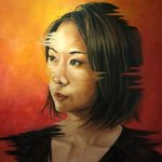 Portrait of Chinese woman By Wong Pun Kin