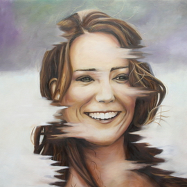 Wong Pun Kin: 'Portrait of Kate Middleton', 2013 Oil Painting, Famous People. Artist Description:    Portrait of Kate Middleton, oil painting,    ...