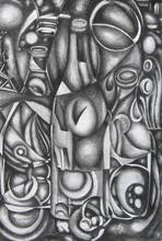 - artwork Still_Life_No_2-1353791874.jpg - 2012, Drawing Charcoal, Still Life