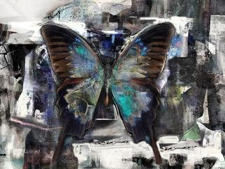 Airton Sobreira: 'White Night Butterfly', 2013 Digital Art, Fish.             original digigraph artist proof signed by airton sobreira on canvas or paper.available in several sizes.            ...