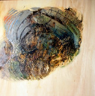 Alan Soffer: 'dreaming 1a', 2014 Encaustic Painting, Abstract. Artist Description: How the subconscious is so powerful and so informative...