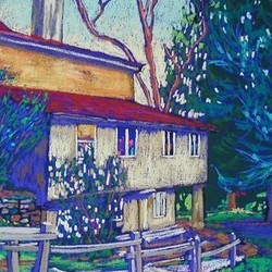 , Yellow Springs , Landscape, $1,470