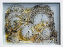 - artwork desk_clocks-1353259530.jpg - 2012, Printmaking Lithography, Figurative