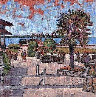 Artist: Aleksandar - Atza Visnjic - Title: Dundarave Beach 1 - Medium: Acrylic Painting - Year: 2010
