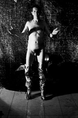 Maurizio Ruggiano Artwork nando1, 1999 Black and White Photograph, Psychic