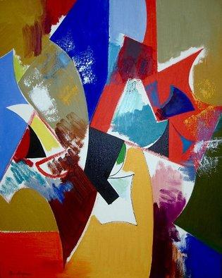 Artist: Alexander Sadoyan - Title: Memory of red - Medium: Oil Painting - Year: 2008