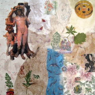 Alexandra Von Hellberg Artwork Dyonisos and Pan, 2008 Mixed Media, Religious