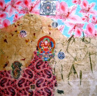 Alexandra Von Hellberg Artwork Vajrasattva, 2008 Mixed Media, Religious