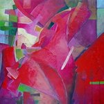 Abstract Rose By Alexandra Kruglyak-Zecevic