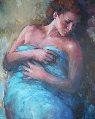 Artist: Alexandra Kruglyak-zecevic - Title: Resting  - Medium: Acrylic Painting - Year: 2010