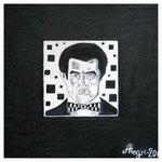 Kazimir Malevich in your black square By Alexey Grishankov