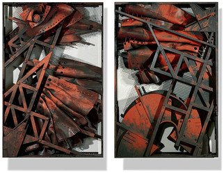 Alexey Klimov Artwork GENERATIONS 4 AND 5, 2016 Mixed Media Sculpture, Abstract