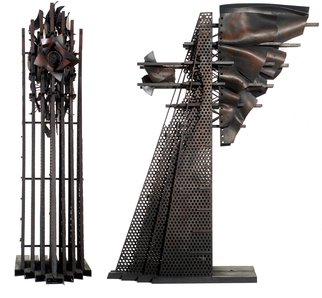 Alexey Klimov Artwork PERFORATED MOTION, 2005 Mixed Media Sculpture, Abstract