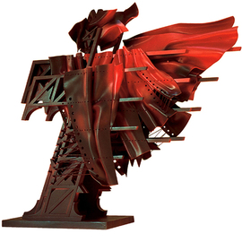Alexey Klimov: 'TAKE SEVEN', 2002 Mixed Media Sculpture, Abstract. Artist Description:  Takes is the collection of 6 freeaEUR