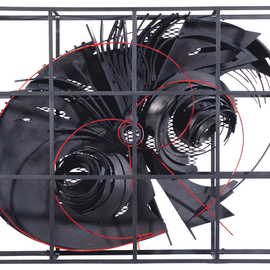 Alexey Klimov: 'TRANSFORMATION FOUR', 2009 Mixed Media Sculpture, Abstract. Artist Description:               Numb for three weeks, I was glued to TV screen after 9/ 11. Then I started sketching a wall sculpture inspired by the endless images of the tragedy and that woke me up from my depression. The first stand- alone piece grew into a whole series that I ...
