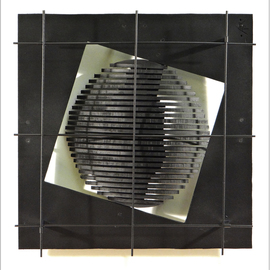 Alexey Klimov Artwork WINDOW FIVE, 2014 Steel Sculpture, Abstract