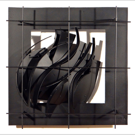 Alexey Klimov Artwork WINDOW FOUR, 2014 Mixed Media Sculpture, Abstract
