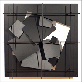 Alexey Klimov Artwork WINDOW SIX, 2014 Steel Sculpture, Abstract