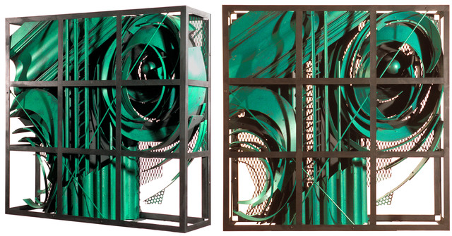 Alexey Klimov  'Past Continuous In Green', created in 2009, Original Sculpture Wood.