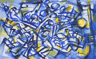 Artist: Aleksey Yesyunin - Title: Game 15 - Medium: Oil Painting - Year: 2011