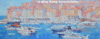 Artist: Alex Hook Krioutchkov - Title: Dubrovnic - Medium: Oil Painting - Year: 2015