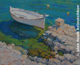 Alex Hook Krioutchkov Artwork La bala, 2015 Oil Painting, Boating