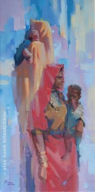 Artist: Alex Hook Krioutchkov - Title: Madonas of India IV - Medium: Oil Painting - Year: 2011
