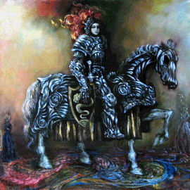 Alexandr Ivanov Artwork Strangenesses of dreams, 2008 Oil Painting, Surrealism