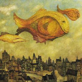 unhurried flight of fishes