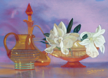 - artwork GRACEFUL_AMBER-1263794674.jpg - 2010, Pastel, Still Life