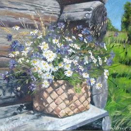 chamomile cornflowers