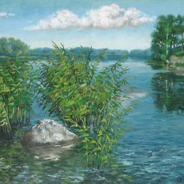 lake 61 5x92 5cm