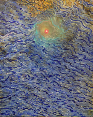 Artist: Artur Pashkov - Title: The eye of the beholder - Medium: Oil Painting - Year: 2012