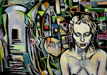 - artwork Archyvas-1207846842.jpg - 2008, Painting Acrylic, Figurative