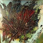 Mixed Media Abstract Post Modern Art By Alfredo Garcia Tumbleweed By Alfredo Garcia