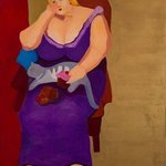 Purple Dress, Alice Murdoch