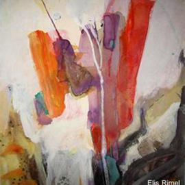 Ali Elhadj Tahar Artwork The depth of the sea, 1997 Mixed Media, Abstract